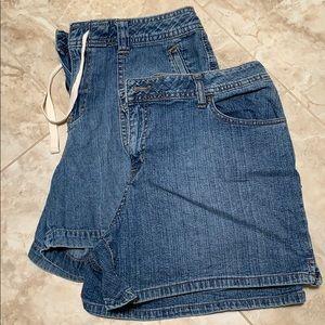 St. John's Bay Denim Shorts Bundle